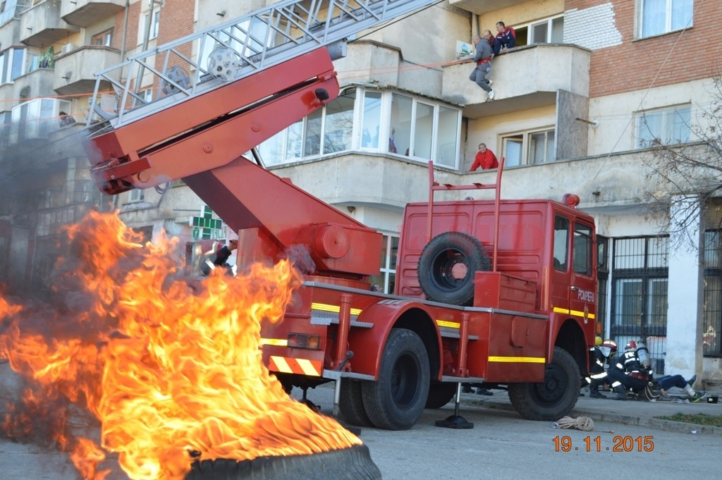 incendiu Băileşti