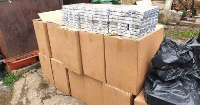 Captură de țigări de contrabandă, la Băilești. Două persoane au fost reținute