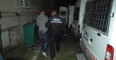 Minor arestat pentru comiterea mai multor infracţiuni în Băilești